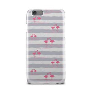 Flamingo Pink Stripes for Amazing iPhone 6 Case