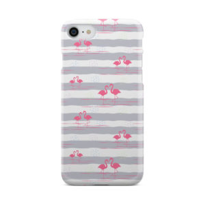 Flamingo Pink Stripes for Nice iPhone 7 Case