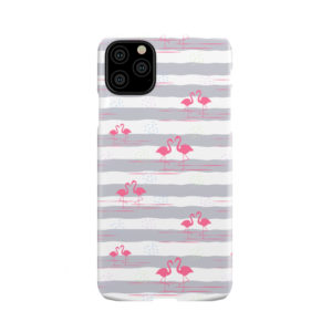 Flamingo Pink Stripes for Stylish iPhone 11 Pro Max Case Cover