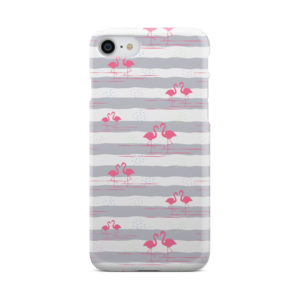 Flamingo Pink Stripes for Unique iPhone 8 Case Cover