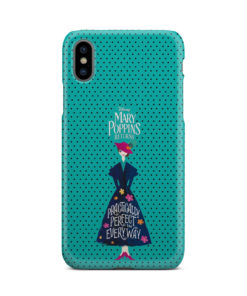 Mary Poppins Returns for Stylish iPhone X / XS Case Cover