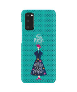 Mary Poppins Returns for Unique Samsung Galaxy S20 Case