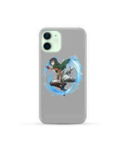 Mikasa Ackerman Attack on Titan Character for Amazing iPhone 12 Mini Case Cover