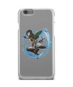 Mikasa Ackerman Attack on Titan Character for Beautiful iPhone 6 Case