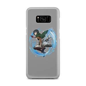 Mikasa Ackerman Attack on Titan Character for Beautiful Samsung Galaxy S8 Plus Case Cover