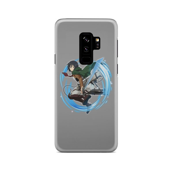 Mikasa Ackerman Attack on Titan Character for Best Samsung Galaxy S9 Plus Case