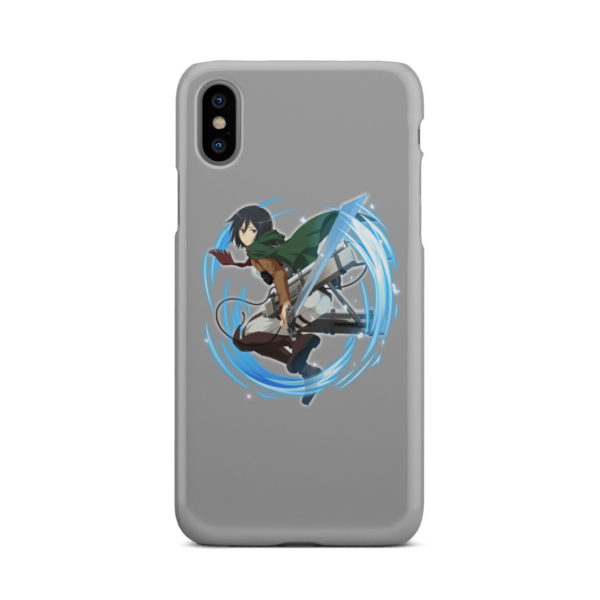 Mikasa Ackerman Attack on Titan Character for Cool iPhone X / XS Case Cover