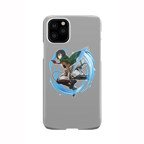 Mikasa Ackerman Attack on Titan Character for Custom iPhone 11 Pro Case Cover