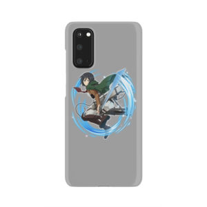 Mikasa Ackerman Attack on Titan Character for Custom Samsung Galaxy S20 Case