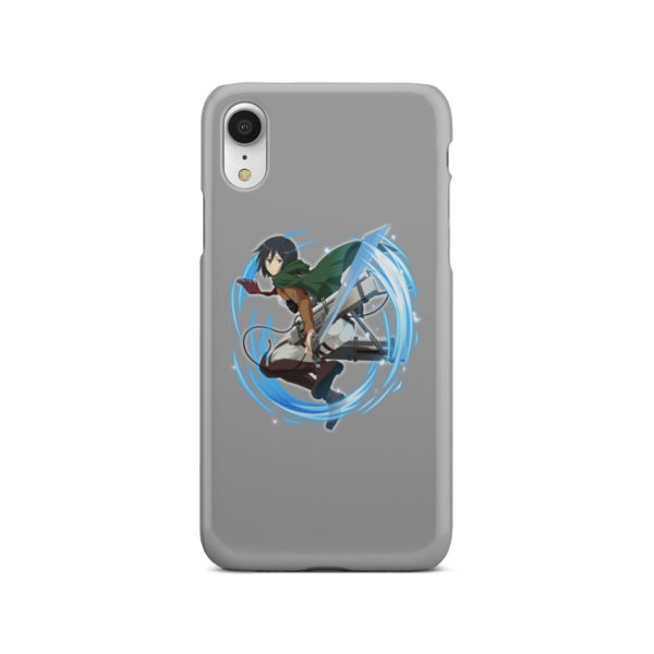 Mikasa Ackerman Attack on Titan Character for Customized iPhone XR Case