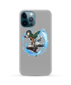 Mikasa Ackerman Attack on Titan Character for Cute iPhone 12 Pro Max Case