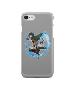 Mikasa Ackerman Attack on Titan Character for Cute iPhone SE 2020 Case Cover