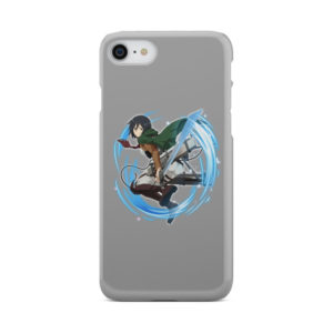 Mikasa Ackerman Attack on Titan Character for Newest iPhone 8 Case Cover