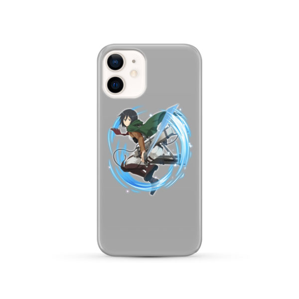 Mikasa Ackerman Attack on Titan Character for Nice iPhone 12 Case