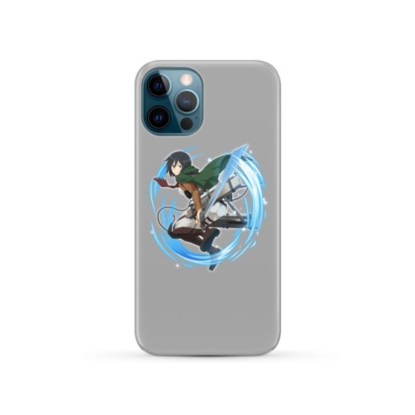 Mikasa Ackerman Attack on Titan Character for Personalised iPhone 12 Pro Case Cover