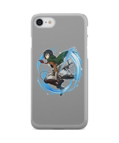 Mikasa Ackerman Attack on Titan Character for Personalised iPhone 7 Case Cover
