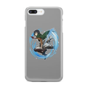 Mikasa Ackerman Attack on Titan Character for Personalised iPhone 8 Plus Case Cover