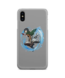 Mikasa Ackerman Attack on Titan Character for Personalised iPhone XS Max Case Cover