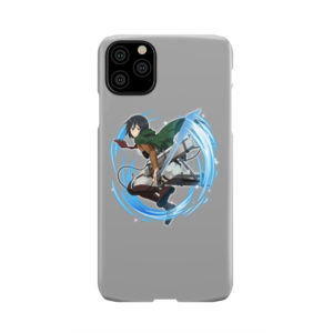 Mikasa Ackerman Attack on Titan Character for Simple iPhone 11 Pro Max Case Cover