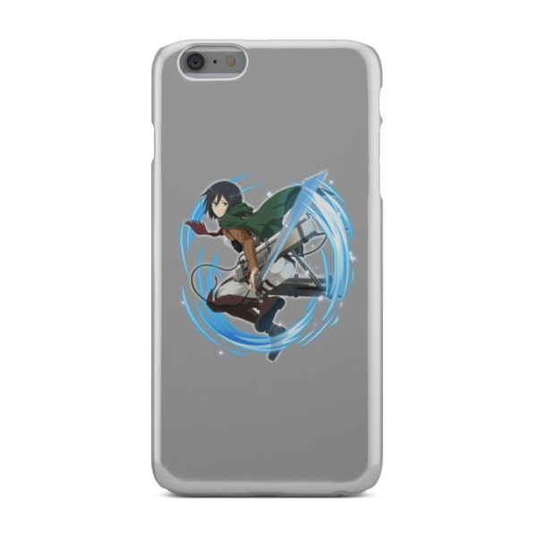 Mikasa Ackerman Attack on Titan Character for Simple iPhone 6 Plus Case