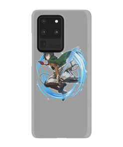 Mikasa Ackerman Attack on Titan Character for Stylish Samsung Galaxy S20 Ultra Case Cover