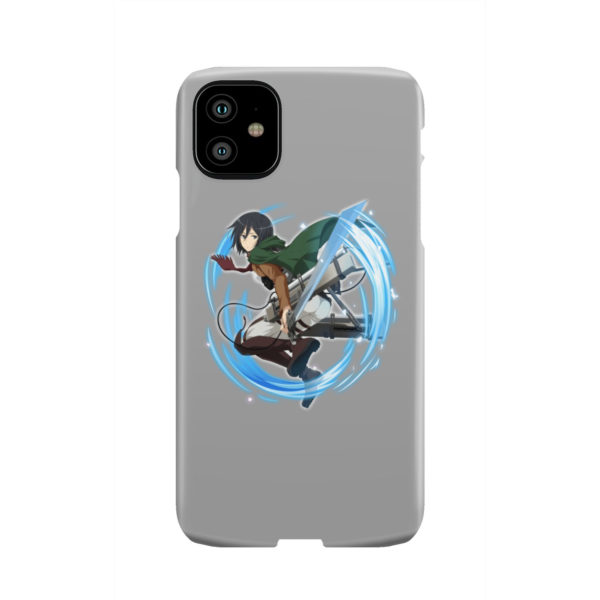 Mikasa Ackerman Attack on Titan Character for Trendy iPhone 11 Case