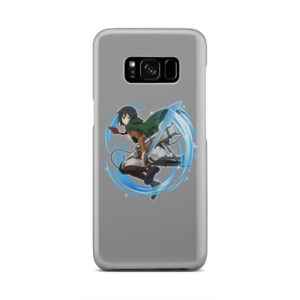 Mikasa Ackerman Attack on Titan Character for Unique Samsung Galaxy S8 Case