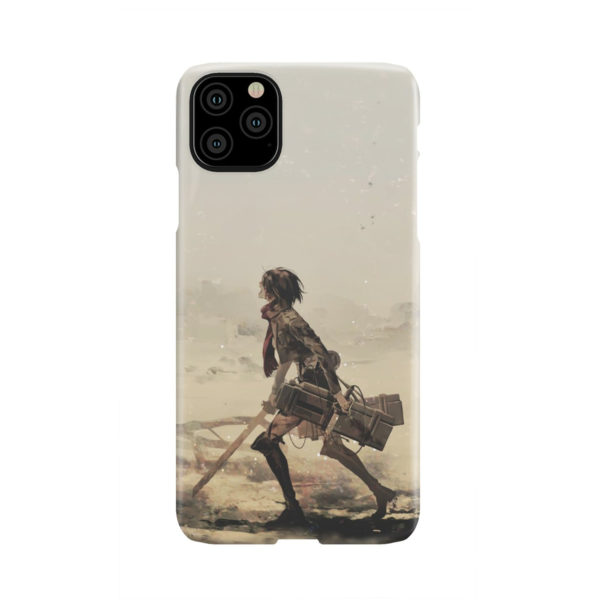 Mikasa Ackerman Attack on Titan for Beautiful iPhone 11 Pro Max Case