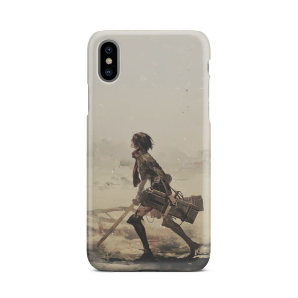 Mikasa Ackerman Attack on Titan for Beautiful iPhone X / XS Case Cover