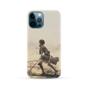 Mikasa Ackerman Attack on Titan for Best iPhone 12 Pro Max Case