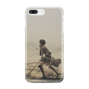 Mikasa Ackerman Attack on Titan for Best iPhone 8 Plus Case