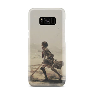 Mikasa Ackerman Attack on Titan for Cool Samsung Galaxy S8 Plus Case