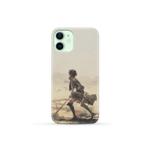 Mikasa Ackerman Attack on Titan for Customized iPhone 12 Mini Case