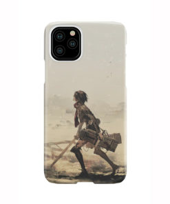 Mikasa Ackerman Attack on Titan for Newest iPhone 11 Pro Case Cover