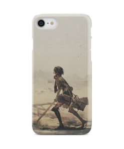 Mikasa Ackerman Attack on Titan for Newest iPhone 7 Case