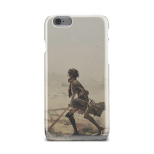 Mikasa Ackerman Attack on Titan for Premium iPhone 6 Case