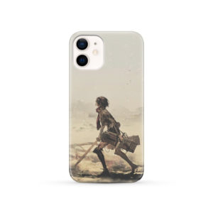 Mikasa Ackerman Attack on Titan for Stylish iPhone 12 Case