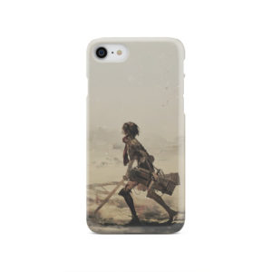 Mikasa Ackerman Attack on Titan for Trendy iPhone SE 2020 Case Cover