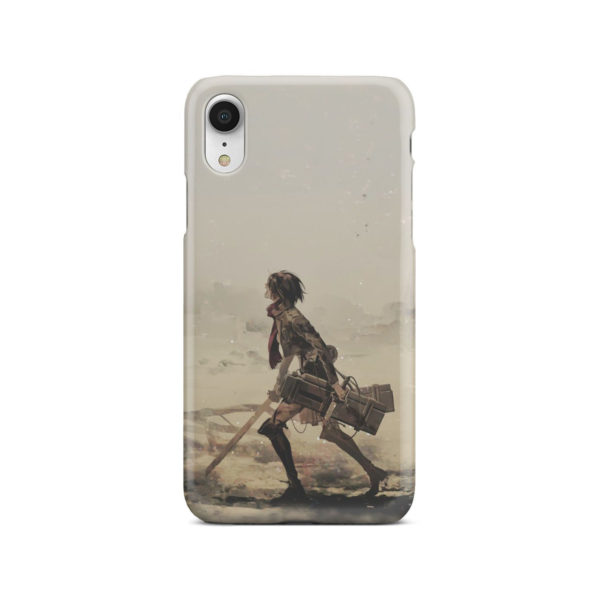 Mikasa Ackerman Attack on Titan for Trendy iPhone XR Case Cover