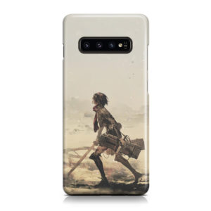Mikasa Ackerman Attack on Titan for Trendy Samsung Galaxy S10 Case