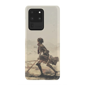 Mikasa Ackerman Attack on Titan for Trendy Samsung Galaxy S20 Ultra Case Cover