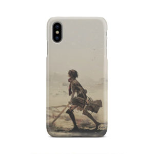 Mikasa Ackerman Attack on Titan for Unique iPhone XS Max Case Cover