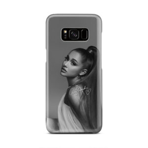 Ariana Grande Signature for Customized Samsung Galaxy S8 Case