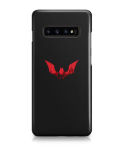 Batman Red Logo for Cool Samsung Galaxy S10 Case Cover