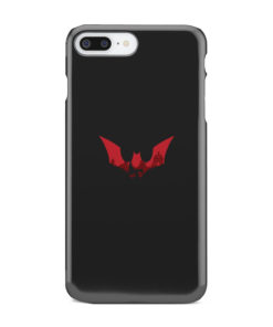 Batman Red Logo for Stylish iPhone 7 Plus Case Cover