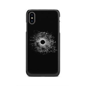 Broken Glass for Customized iPhone XS Max Case Cover