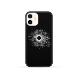 Broken Glass for Nice iPhone 12 Case Cover