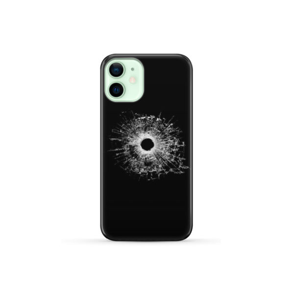 Broken Glass for Personalised iPhone 12 Mini Case Cover