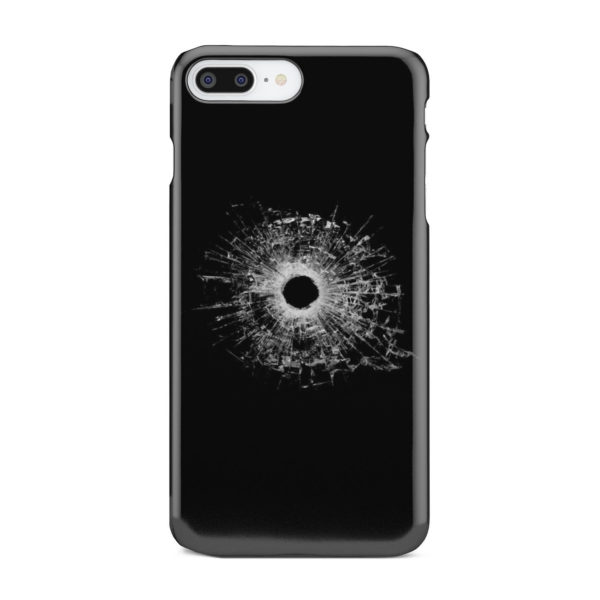 Broken Glass for Simple iPhone 7 Plus Case Cover