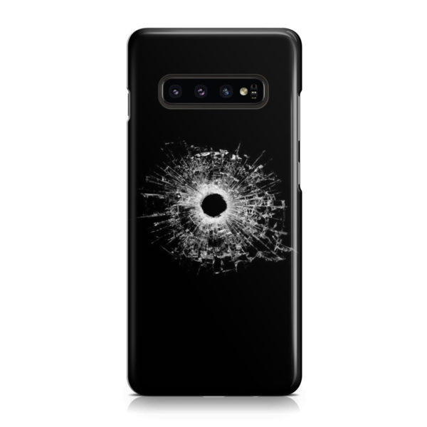 Broken Glass for Simple Samsung Galaxy S10 Case Cover